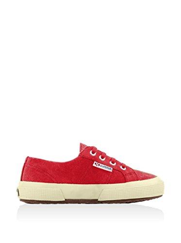 Superga 2750- SUEJ S006KV0 - Zapatillas de ante para niños Rojo