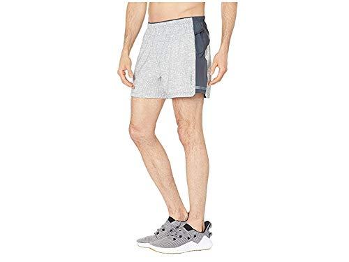 Brooks Men's Sherpa 5'' Shorts Ash Static/Asphalt Medium 5 by Brooks (Image #1)