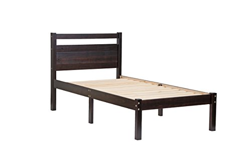 Amazon Com Palace Imports 100 Solid Wood Bronx Twin Bed
