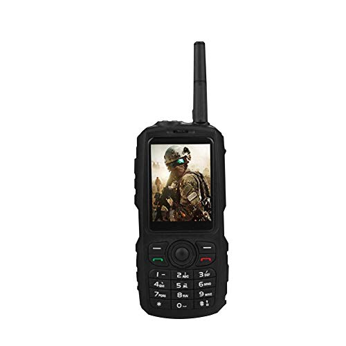 Juan Walkie Talkie Cell Phone for A17 A16 + Land Rover Discovery 3G Android 4.4 Software Zello Intercom Mobile Phone, Two-Way Radio, with GPS Locating Function Within 300h Max Operating Time