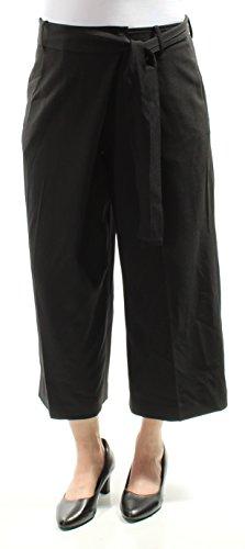 - Anne Klein Women's Wide Leg Tie Front Pant, Black, 12