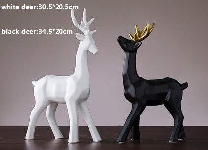 Amazon com: VietFA Figurines & Miniatures Ceramic Black
