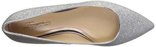 f3100525440 Imagine Vince Camuto Women s Genesa Ballet Flat 7 B(m) US Platinum ...