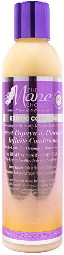 THE MANE CHOICE - Exotic Cool-Laid Sweet Papaya & Pineapple Multi-Use Fruit Infused Infinite Conditioner (8 Ounces / 236 Milliliters)