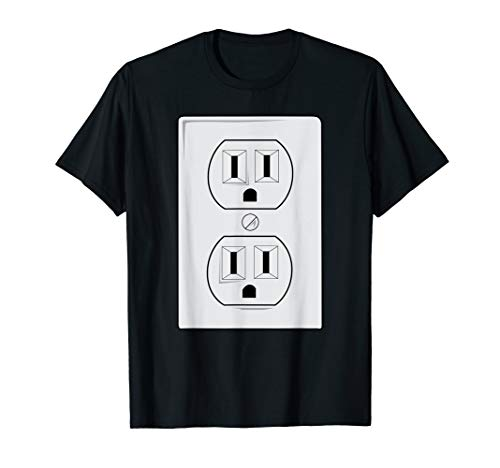 Unique Diy Couple Halloween Costumes (Electrical Outlet Plug And SOCKET Couples Costume Halloween)
