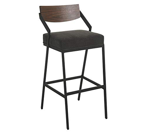 Wood & Style Furniture Stationary Stool, 26
