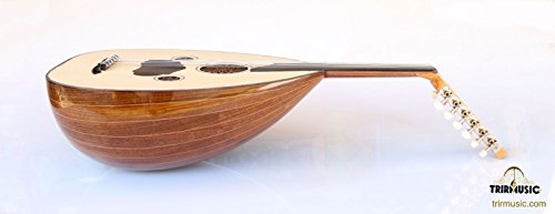 Turkish Quality Walnut String Instrument Oud Ud AO-107G by trirmusic