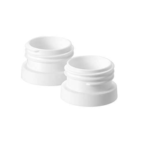 Tommee Tippee Pump and Go Double Electric Breast Pump Adapter Set,White