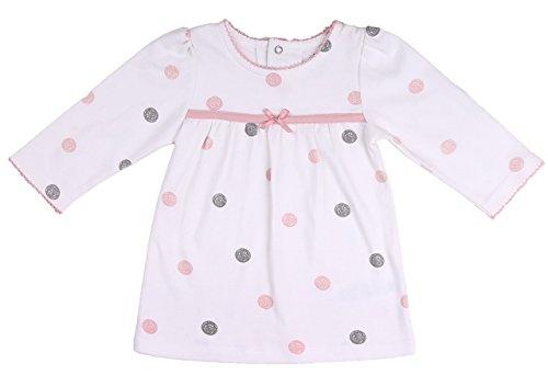 Asher and Olivia Baby Girls' Clothing Set Polka Dot Long-Sleeve Tunic and Legging Size 12-18Month