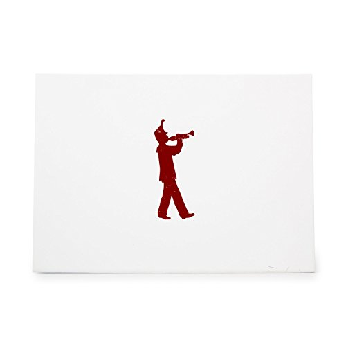 Marching Band Trumpet Rubber Stamp By DRS Designs