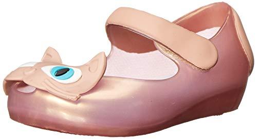 Mini Melissa Ultragirl II Flat (Toddler), Light Pink, 5 M US Toddler