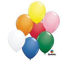 "5"" Smiley Balloon - Traditional Assortment"
