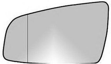 Spiegelglas Außenspiegel Links Heizbar Asphärisch Chrom Opel Zafira B Auto