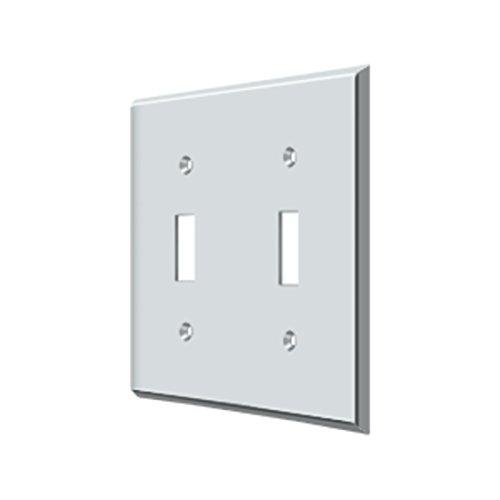 Deltana SWP4761U26 Double Standard Switch Plate