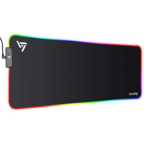 پد ماوس گیمینگ VicTsing  RGB  13 Lighting Modes سایز XL مدل VK101030US