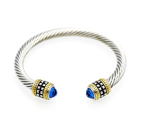 Fashion Cable Bracelet Brand Cable Wire Bangle Elegant Beautiful Imitation Pearl Valentine - Bangle Designer Pearl