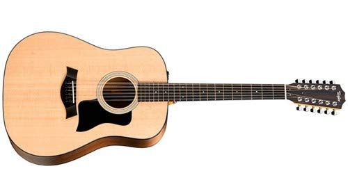 Taylor 100 Series 2017 150e Dreadnought 12-String Acoustic-Electric Guitar Natural