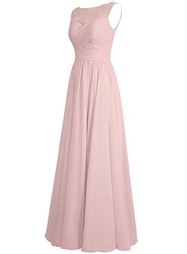Chiffon Lang A Traube Linie Festkleider Abendkleider Ballkleider Hochzeitskleider Brautjungfernkleid qwXx0fz