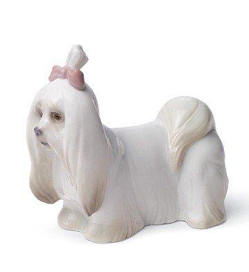 Lladro Maltese Dog by Lladro