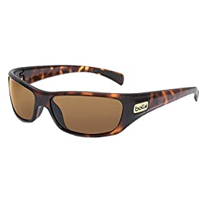 Bolle Women's Sport Copperhead Sunglasses (Dark Tortoise, Polarized)