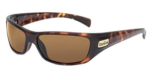 Bolle Women's Sport Copperhead Sunglasses (Dark Tortoise, Polarized)