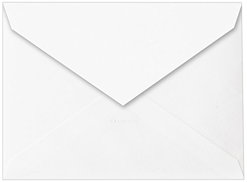 Crane & Co. Pearl White Embassy Ungummed Inside Envelopes (W60) ()