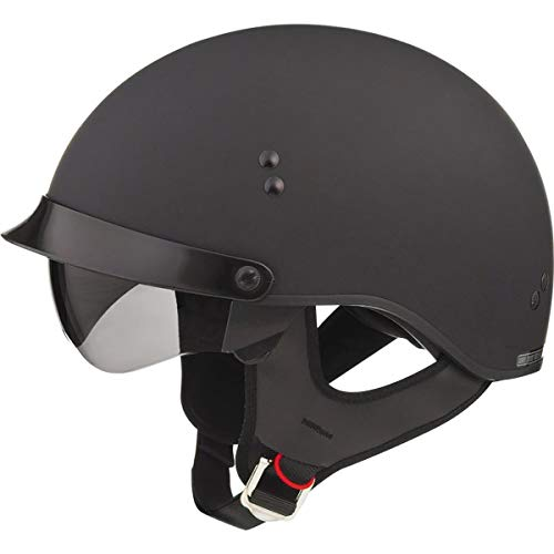 GMAX GM65 Full Dress Adult Cruiser Motorcycle Helmet - Flat Black/Large