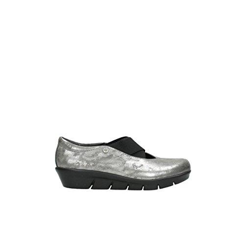 Wolky Cursa para Mujer 10203 Grey Nubuck