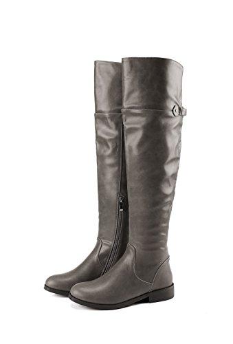 BalaMasa  Abl09522, Sandales Compensées femme - Gris - gris,
