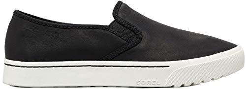 SOREL Women's Campsneak¿ Slip Black Full Grain Leather 10 B US -