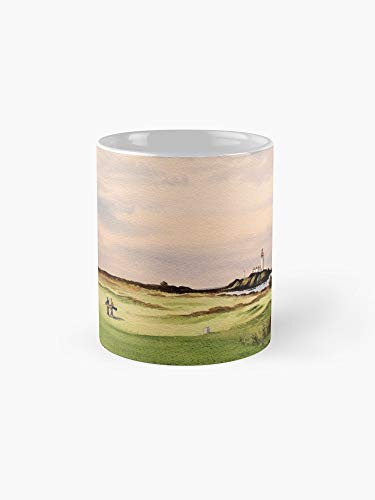 Turnberry Golf Course 12Th 11oz Mug - Made from Ceramic - Best gift for family friends ()