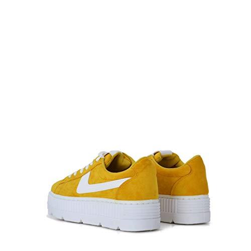 De Zapatillas Rebajas Plataforma Sneakers Con Color Mostaza Mujer qpBwnBOxv5