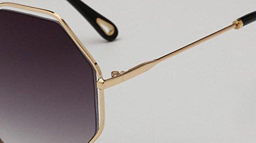 americano irregular sol f de estilo color Gafas de europeo para mujer RDJM Gafas y cine a 78qHwE
