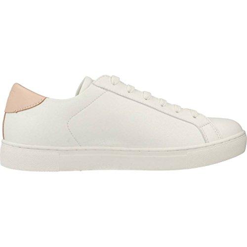 White Emporio Logo Pink White Court Trainers Armani nXXr4qB