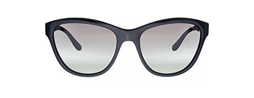 Vogue Gray Lens (Vogue VO2993S Sunglasses W44/11-57 - Black Frame, Gray Gradient)