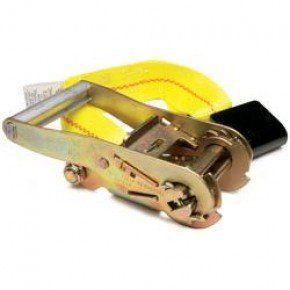 """Kinedyne Corporation 519920 2"""" Fixed End Replacement Ratchet Strap With Flat Hook And Buckle"""