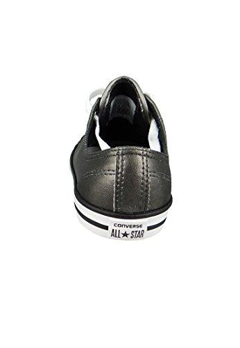 Converse Ct Som Fine Metallic Læder Okse Dame Sneaker Metallisk | Grå nck1D45I