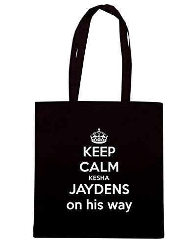 JAYDENS Shopper Borsa KEEP ON WAY KESHA HIS TKC2834 CALM Nera xYTqdYwS