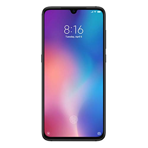 Xiaomi MI 9 Smartphone, 64 GB, display AMOLED 6.39″, 2280×1080, Snapdragon 855 Octa-core, 6 GB RAM, Tripla Fotocamera 48+16+12 MP, Nero Onice [Versione italiana]
