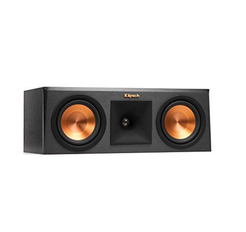 Klipsch RP-250C Center Channel Speaker - Ebony (Certified Refurbished) by Klipsch