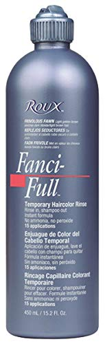Roux Fanci-Full Rinse, 12 Black Rage, 15.2 Fluid Ounce