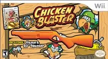 Zoo Games Chicken Blaster With Rifle Arcade Vg Wii Platform 6 Different Weapons 2 Players set of 3