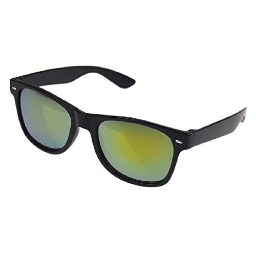 Men Coating Oro Glasses Sun Women Espejos conducción Eyewear Black Rivet Frame polarizadas Gafas Vintage de NoyoKere Retro Points Shades sol Blue Classic de B6wf5nq