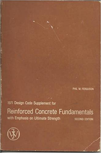 1971 Design Code Suppliment for Reinforced Concrete