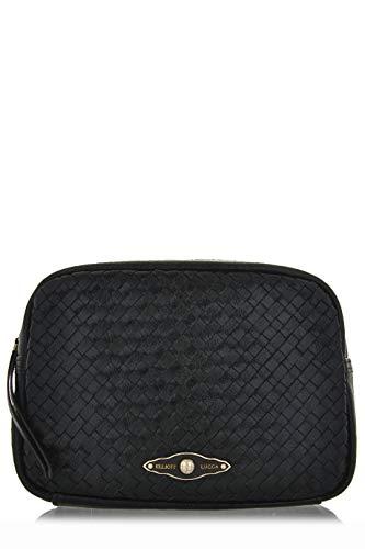 ELLIOTT LUCCA MILLANA Black Onyx Leather Clutch ()