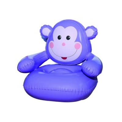Fun Monkey Kid's Inflatable Air Chair: Kitchen & Dining