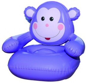 Cool Wilton Fun Monkey Kids Inflatable Air Chair Theyellowbook Wood Chair Design Ideas Theyellowbookinfo
