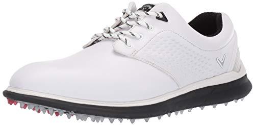 Callaway Men's Skyline Golf Shoe, White/Black, 9 M US