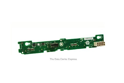 HP 725273-001 Backplane board - For the 2-bay hot-plug large form factor (LFF) hard drive cage - Mounts on the rear of the hard drive cage