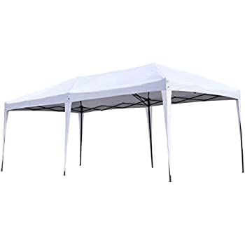 Amazon Com Ozark Trail 20x10 Straight Leg Instant Canopy
